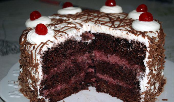 Un bon dessert, la forêt noire