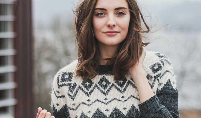 Sweater de femme à la mode